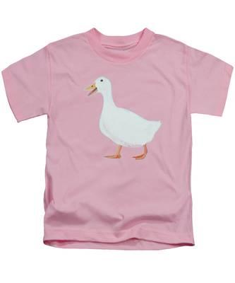 Goose Named Audrey Kids T-Shirt