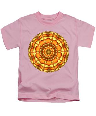 Layers Of Gold Kids T-Shirt