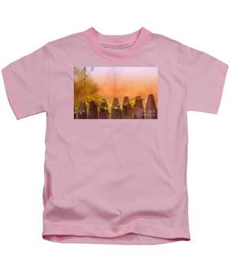 Look Beyond The Boundary Kids T-Shirt