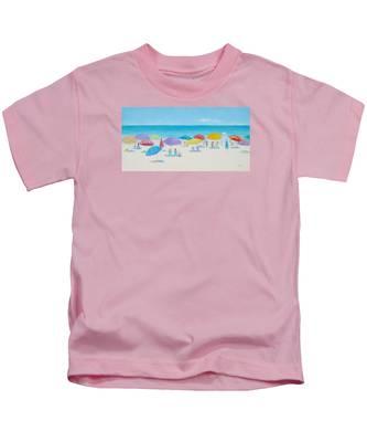 Main Beach East Hampton  Kids T-Shirt