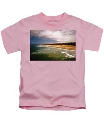 Manhattan Beach Surrealist Kids T-Shirt