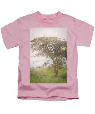 Misty Landscape Kids T-Shirt