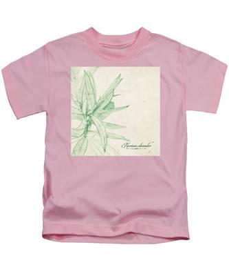 Nerium Oleander Kids T-Shirt