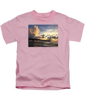 Pier On The Left Kids T-Shirt