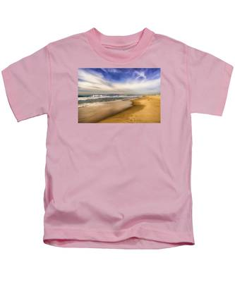 Quiet Reflections Of Hermosa Kids T-Shirt