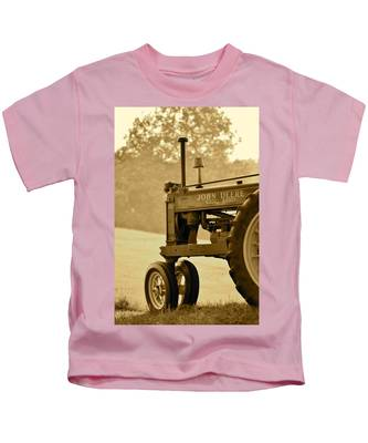 Resting In Sepia Kids T-Shirt