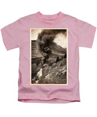 Slow Uphill Climb  Kids T-Shirt