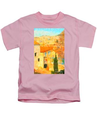 Summer In Athens Kids T-Shirt