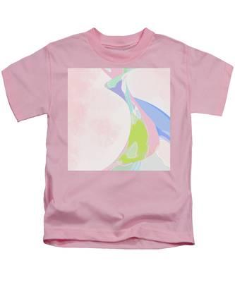The Edge Of Her Kimono Kids T-Shirt