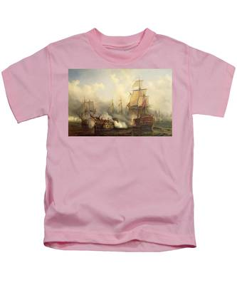 Unknown Title Sea Battle Kids T-Shirt