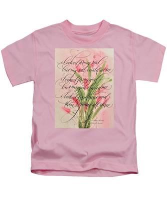 The Searcher II By Thomas Blake Kids T-Shirt