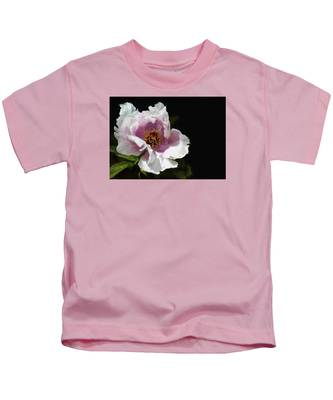 Tree Paeony II Kids T-Shirt