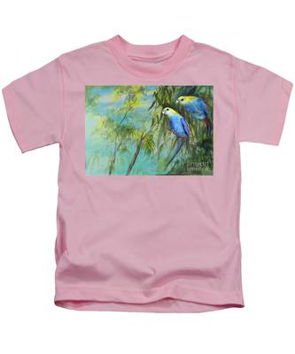 Two Pale-faced Rosellas Kids T-Shirt