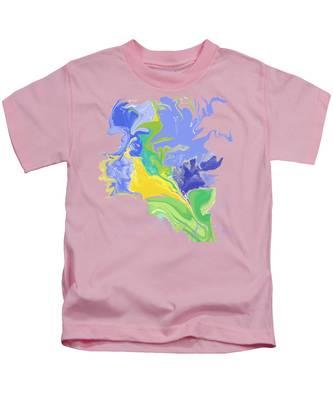 French Bouquet Kids T-Shirt