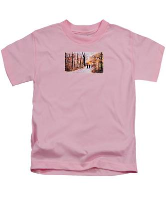 Autumn Walkers Kids T-Shirt