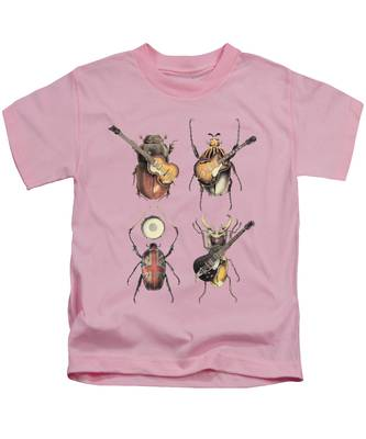 Rock And Roll Beatles Kids T-Shirts
