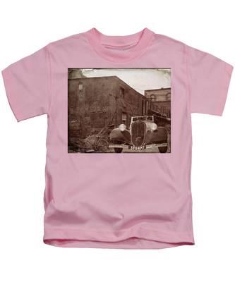 New 1936 Citroen Old Neighborhood Kids T-Shirt