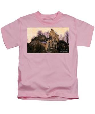 Ruined Castle Kids T-Shirt