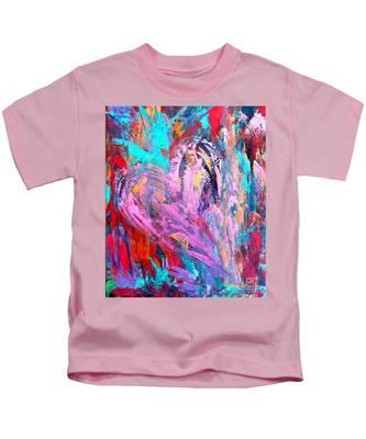 Strength Of My Heart Kids T-Shirt