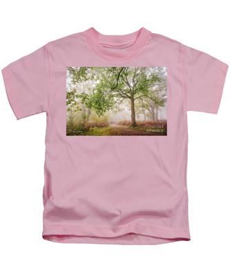 The Autumn Path Kids T-Shirt