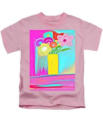 Vase Of Life Kids T-Shirt
