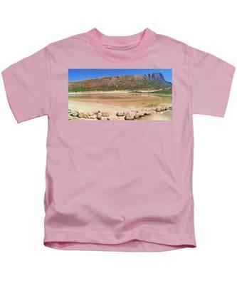 View To Gramvousa Kids T-Shirt