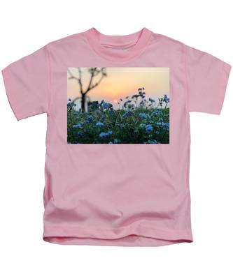 Beautiful Sky Kids T-Shirts
