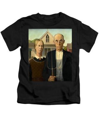 American Gothic Kids T-Shirt