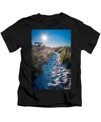 Wilmington Coastal Scene Wilmington North Carolina Kids T-Shirt