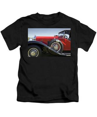 1932 Stutz Bearcat Dv32 Kids T-Shirt