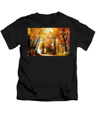 A Golden Day Kids T-Shirt