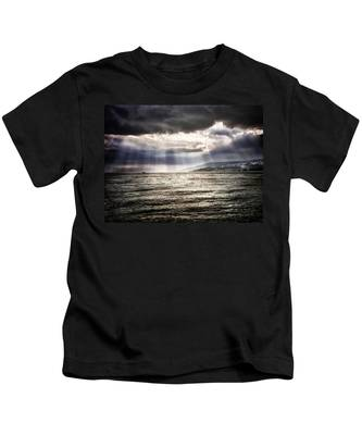 After The Storm Sea Of Galilee Israel Kids T-Shirt