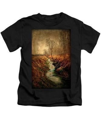Along The Canal Kids T-Shirt