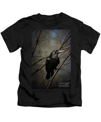 American Crow Kids T-Shirt