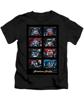 American Muscle Kids T-Shirt
