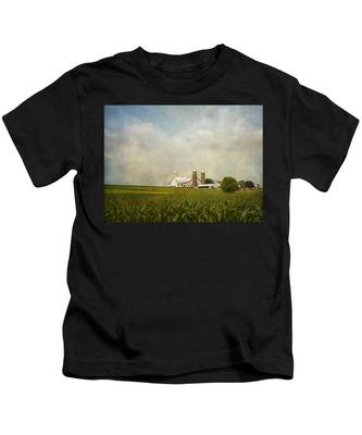 Amish Farmland Kids T-Shirt