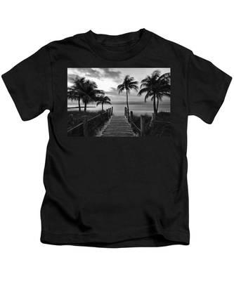 Calm Before Storm Kids T-Shirt