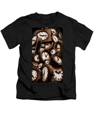 Carpe Diem - Time For Everyone Kids T-Shirt