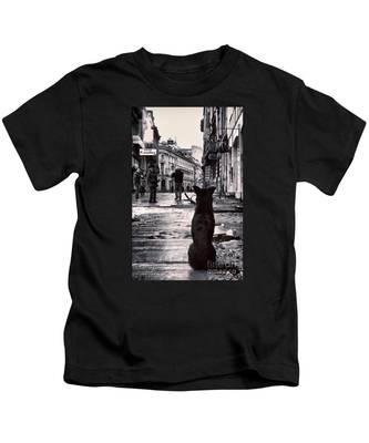 City Streets And The Theory Of Waiting Kids T-Shirt