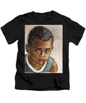 Curious Little Boy Kids T-Shirt