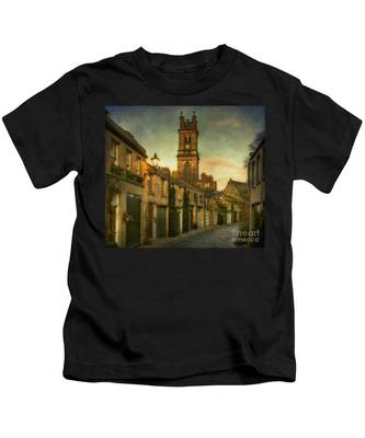 Early Morning Edinburgh Kids T-Shirt