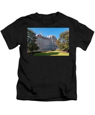 Eisenhower Executive Office Building In Washington Dc Kids T-Shirt