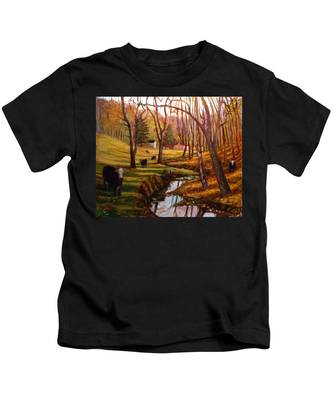 Elby's Cows Kids T-Shirt
