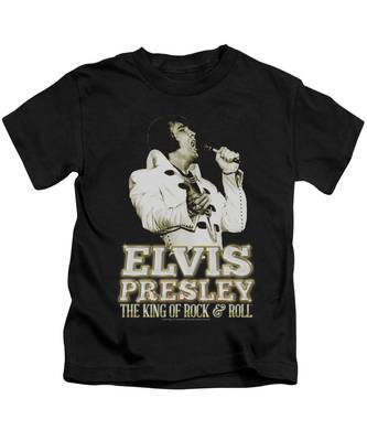 Elvis Distressed King Toddler T-Shirt