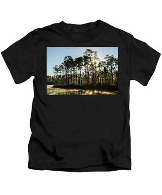 Everglades Sunrise Kids T-Shirt