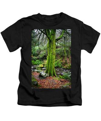 Green Green Moss Kids T-Shirt