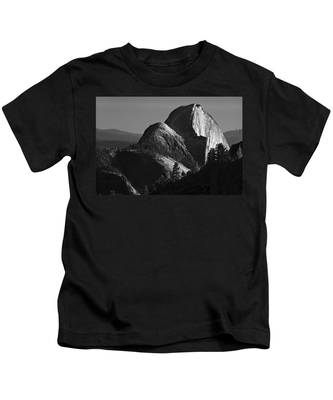 Half Dome At Sunset Kids T-Shirt