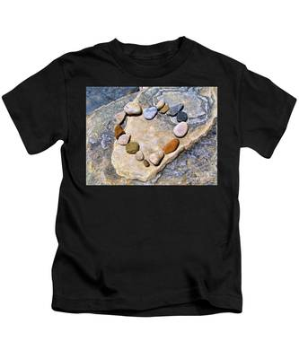 Heart And Stones  Kids T-Shirt