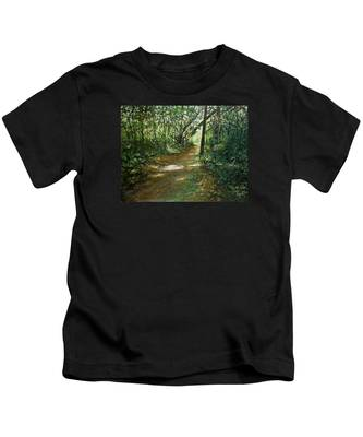 In And Out Of The Shadows Kids T-Shirt