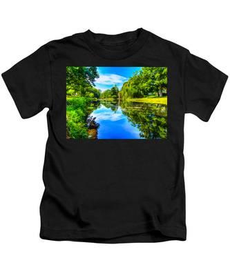 Lake Scene Kids T-Shirt